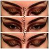 Leopard eyes