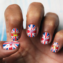 Royal Baby George - Born to Rule - Nail Art Decals
