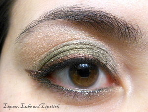 Products used : TaylorMade Minerals in Antique, LaSplash Lid Splash in Shipwreck Copper
