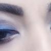 Smokey Blue Eye Makeup