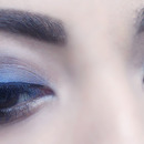 Smokey Blue Eye Makeup