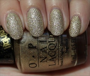 From the OPI Bond Girls Collection! See more swatches & my review here: http://www.swatchandlearn.com/opi-honey-ryder-swatches-review/