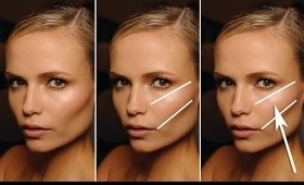 STEP BY STEP GUIDE TO FINDING YOUR CHEEK BONES!