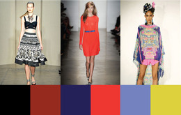 Spring/Summer Fashion Week Color Trends 2012