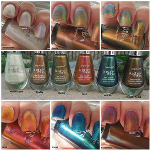 Full swatches, review and comparisons: http://www.thepolishedmommy.com/2012/09/sally-hansen-lustre-shine.html