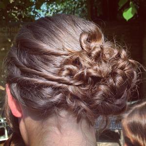nice hair up created by me!