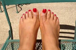 Did a pedicure today