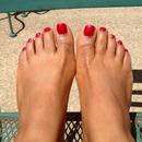 I take care of my feet