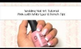 Wedding Lace Nail Art Tutorial