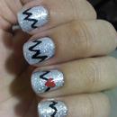 Heart Attack Nails <3