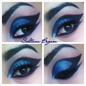 Blue and black wing eyes.