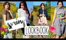Thrifted Spring Lookbook Collab   Easter Outfit ideas