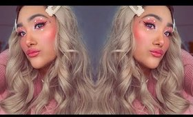 MODERN DAY BARBIE HALLOWEEN MAKEUP - GET READY WITH ME