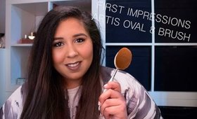 FIRST IMPRESSIONS ARTIS OVAL 8 BRUSH | REDBEDROOMMAKEUP
