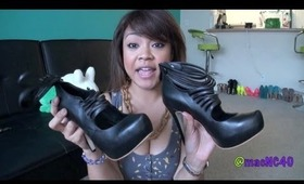 HAUL time! Shoes, jewelry, makeup, & more + bloopers! ;)