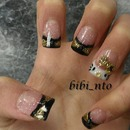 mails hello kitty nails
