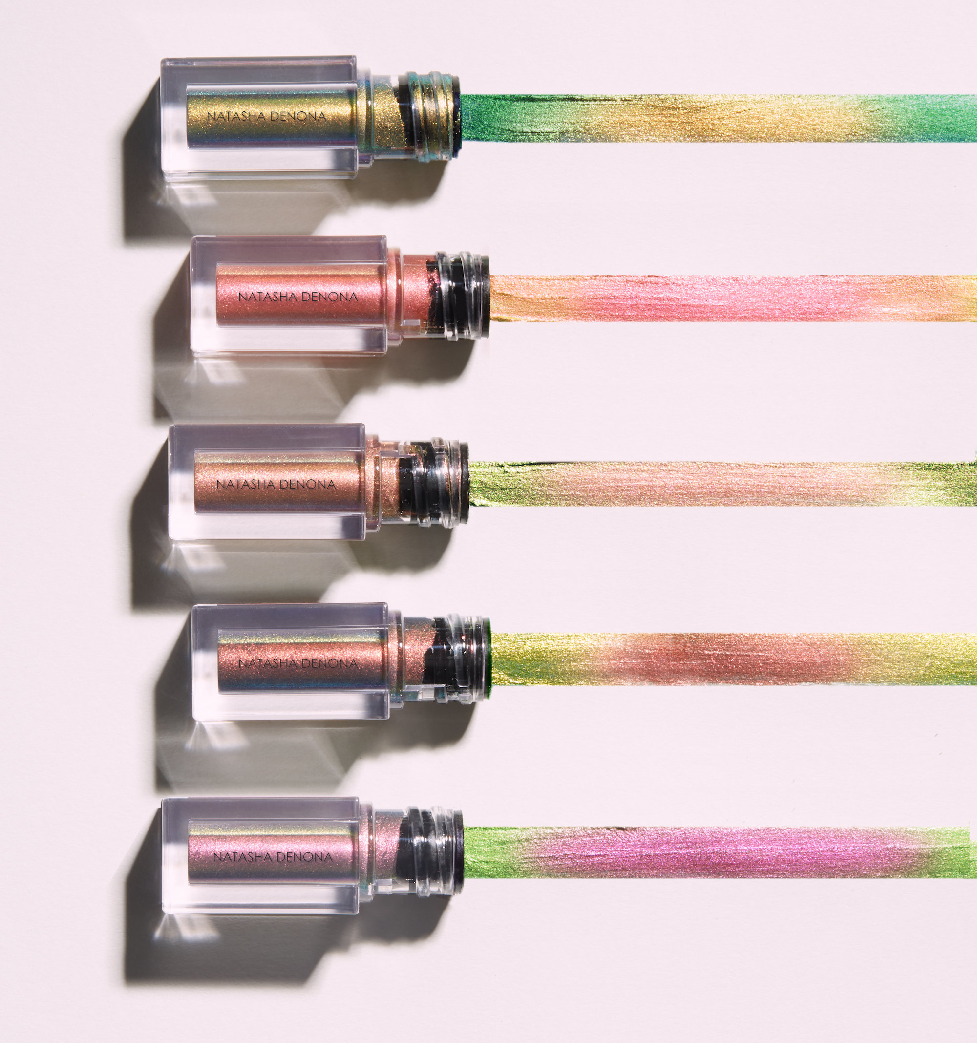 Alternate product image for Chromium Multichrome Liquid Eyeshadow shown with the description.