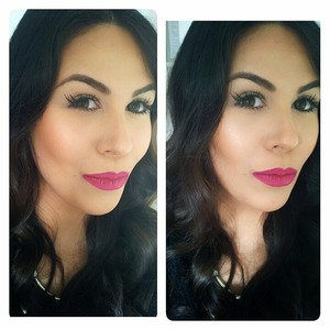 Pink lips & Mascara kind of day!! @smashboxcosmetics BB Cream @Mac More to Love Prolongwear Lip Pencil @Bobbibrown Foundation Stick to contour (Chestnut) @anastasiabeverlyhills Brow Wiz in Brunette and Brow Powder Duo in Dark Brown @ardell_lashes #118 @benefitcosmetics They're Real Mascara @bellamihair clip-in extensions #2 Dark Brown @ numestyle curl jam wand #motd #lipstick #AnastasiaBeverlyHills #anastasiabrows #brows #bbcream #smashboxcosmetics #teambellami #numelove #numestyle #nume #bellamihair #bellami #bellamibella