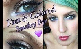 Colorful Fun Smokey Eye