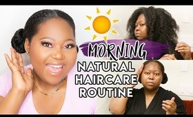 Morning Haircare Routine