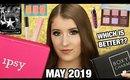 BOXYCHARM VS IPSY GLAM BAG PLUS | MAY 2019 UNBOXING