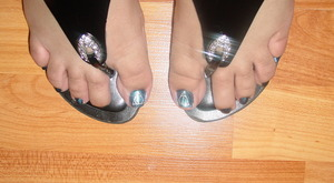 Toes - Deathly Hallows.