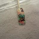 Hippie nail art design