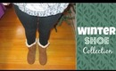 Winter Shoe Collection + Modeling Shoes