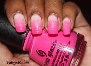 Pink BCA Gradient http://www.bellezzabee.com/2012/10/polish-days-sentimental-pinks.html