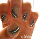 SPARKLING Feather Nails