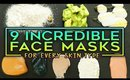 9 Incredible Face Masks For Every Skin Type!