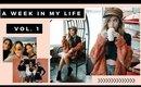 A Week in My Life Vol. 1 // Blogging, Errands, Filming Lookbook