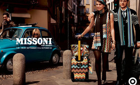 Beautiful Missoni for Target Makeup Bags and Hair Accessories