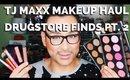 TJ MAXX Makeup Haul Affordable Cosmetics Tutorial Pt. 2   mathias4makeup