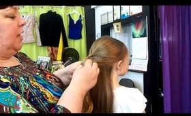 1033 Main Salon & Spa: Quick & Easy Style To Keep Long Hair Out Of The Face