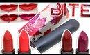 Review & Swatches: BITE Maple Matte Crème Lipsticks   Maple Collection