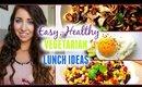 HEALTHY LUNCH IDEAS | Easy & Vegetarian!