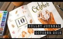 OCTOBER 2018 BULLET JOURNAL SETUP | ANN LE