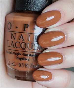 From the San Francisco Collection coming out in August. Click here for my in-depth review and more swatches: http://www.swatchandlearn.com/opi-a-piers-to-be-tan-swatches-review/