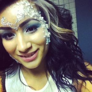 My make up to white wonderland ❤