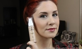 ALMAY CLEAR COMPLEXION FOUNDATION FIRST REACTION AND REVIEW
