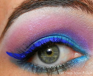 A quick look done Using UD Deluxe shadow box and LC Uniliner in Lazuli