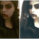 vampire makeup :)