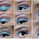 Pastel blue!