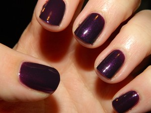 Love this nail polish...New Wet n Wild Disturbia http://mariahlovesmakeup.blogspot.com/2012/01/notd-wet-n-wild-disturbia.html