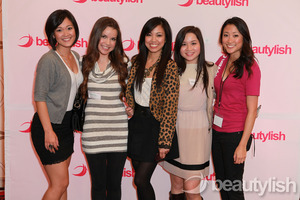 With amazing ladies at the LA Day of Beauty!