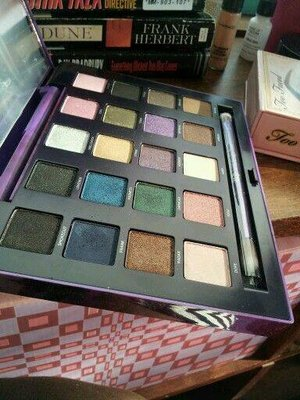 A photo of my Vice 2 palette.