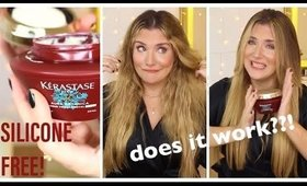 THE ONLY 💯 SILICONE-FREE KERASTASE HAIR MASK FOR FRIZZY HAIR ?!! DOES KERASTASE AURA BOTANICA WORK?