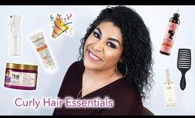 9 CURLY HAIR MUST HAVES | queencarlene