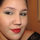 Holiday Look: Winged Eye Liner and Bold Red Lips
